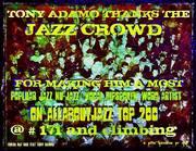 Tony Adamo Thanks The Jazz Crowd