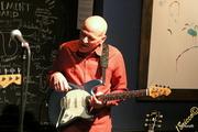 Marc Lucas on guitar