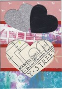 "1027 a&b ""worn out & a new woman"" ATC's 1028 Love ATC by tonipoet 1"