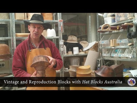Vintage and Reproduction Blocks with Hat Blocks Australia