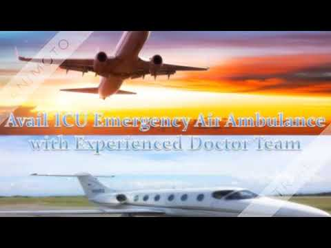 The Fastest and ICU Emergency Sky Air Ambulance Service in Ranchi