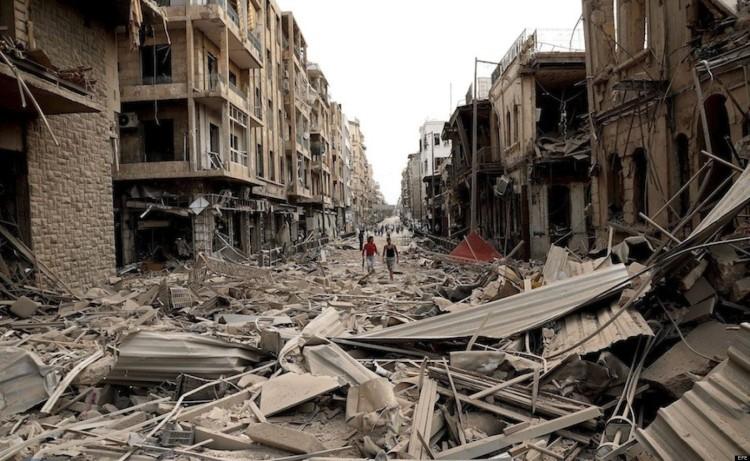 Siria - Síntesis del conflicto armado