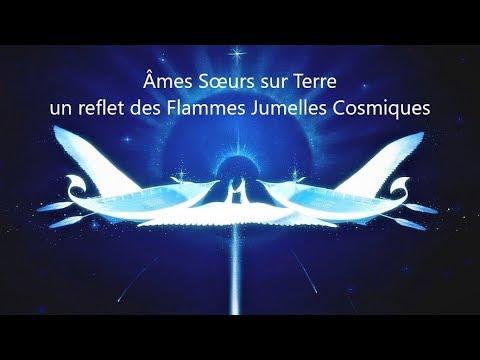 Âmes Sœurs sur Terre, un reflet des Flammes Jumelles Cosmiques