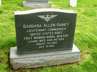 Head stone for LCMR. Barbara Ann Allen Rainy Arlington National Cemetary