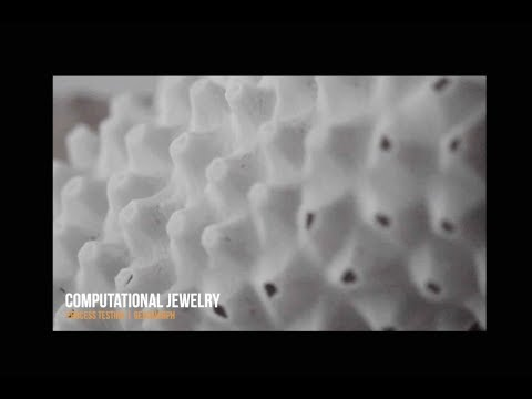Computational Jewelry: Making of a Voronoi based Custom Bracelet using Rhino and Grasshopper