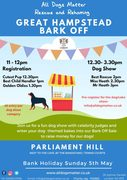 Hampstead Bark Off Dog Show - All Dogs Matter