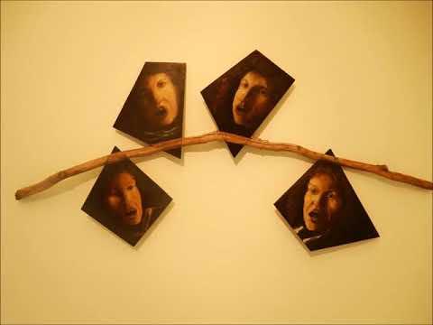 Le génie du silence/Patrick Chemin/Avec des toiles de Pierre Leloup