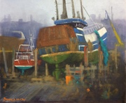 On the Slip, Kilkeel Harbour