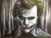 The Joker -Heath LEDGER