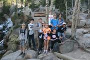 Top of Alberta Falls, Rocky Mountain National Park