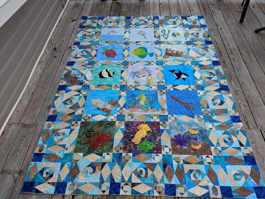 Under the Sea Quilted