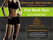 Define Defense & Trainer Vanacker Fitness & MMA