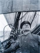 Aboard the Herzogin Cecilie, 1935