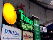Tropicana Sign in Right Field