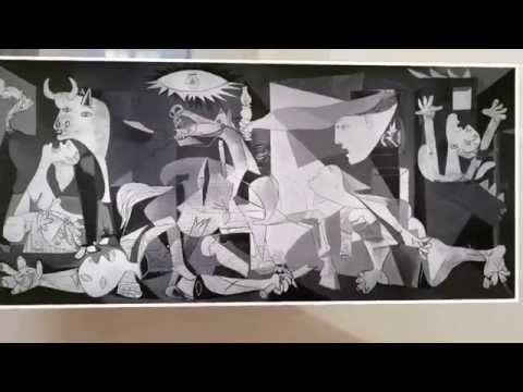 Picasso, l'engagement politique : analyse d'oeuvre : Guernica