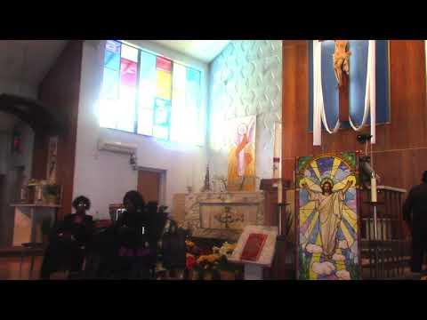 Dr  Sylvia Black  PhD preaching at Manna From Heaven