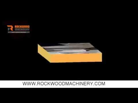 Rockwood Machinery Fiber laser marking machine on stainless steel