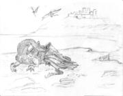 dragon _castle sketchs