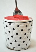 Polka Dot Ice Cream Pint Cozy