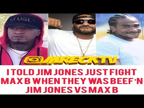 Sen City: I Told Jim Jones To F!ght Max B To Get The Beef Over With|P.T.8|M.Reck