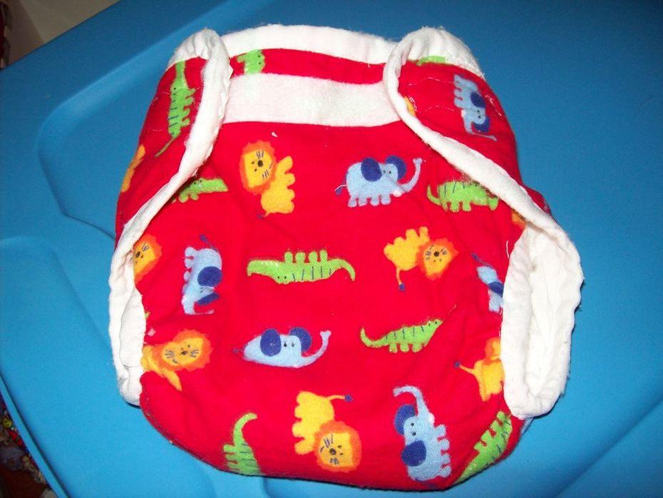 Homemade diaper