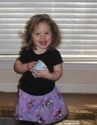 Kaylee in Easter Egg Dress