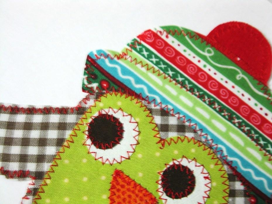 Boy's Christmas Owl - Applique