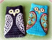 Owl eyeglass holders