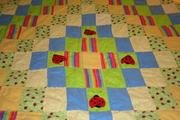 Summer Ladybug quilt