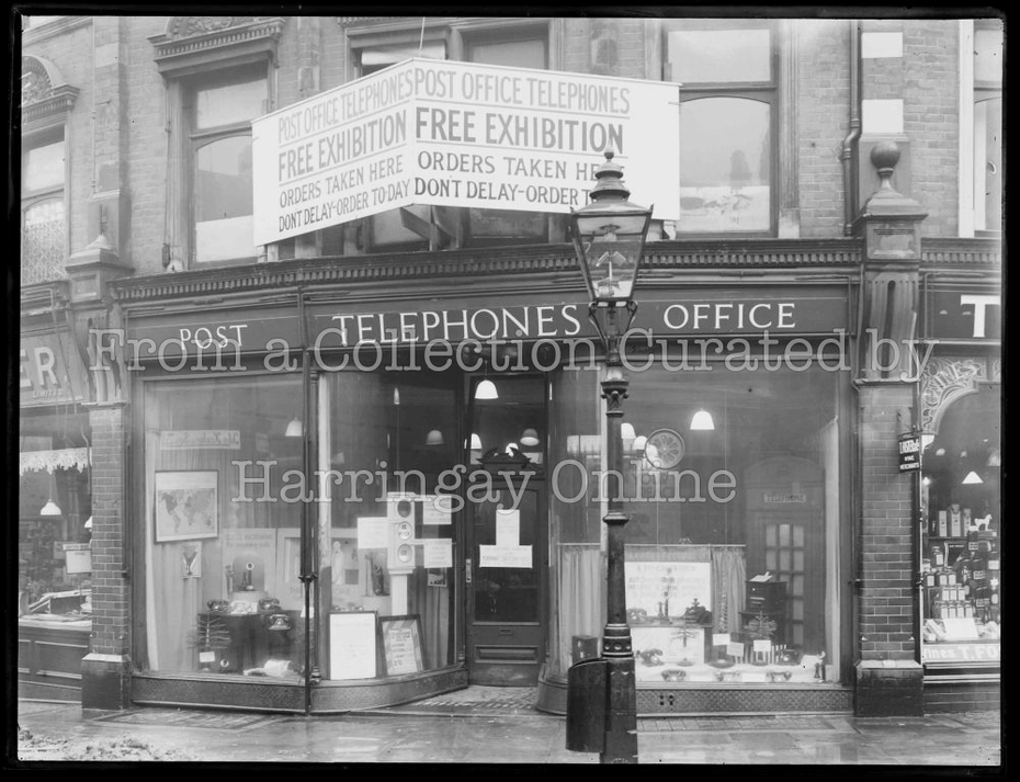 Post Office Telephone Shop, 14 Topsfield Parade, Crouch End | Exterior, March 1932