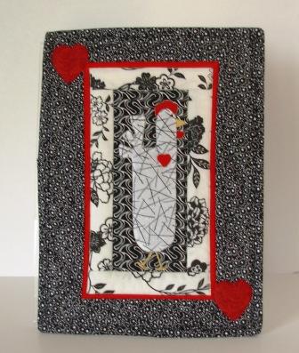 Love Chicken Mini Quilt
