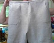 Ladies Linen Walking Shorts