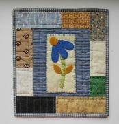 Mini Folk Art Quilt