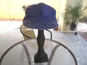 Reversable Bling Cap 1 blue side