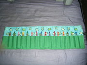 """Turtle"" Crayon Roll-Up"