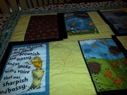 front of Lorax quilt