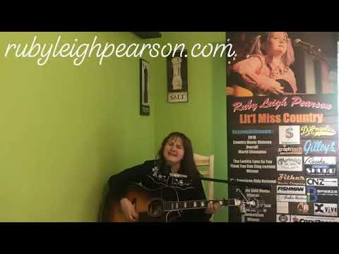 Tennessee Whiskey Cover- Ruby Leigh Pearson - April 30, 2019