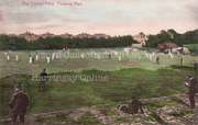 Finsbury Park Cricket Pitch, Endymion Road, c1905
