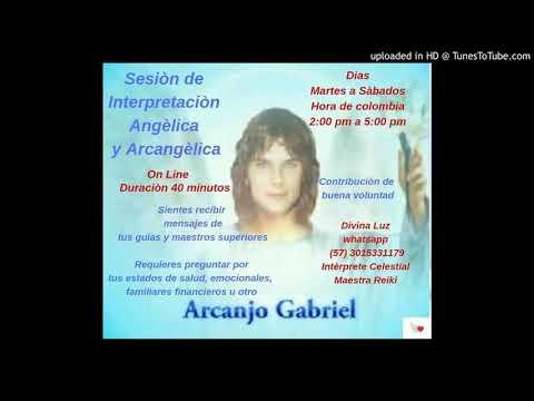 Mensaje amado Arcàngel Gabriel