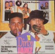Dirty Jamz Mix Cd Cover