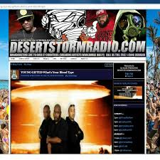 Desert Storm Radio_ Featuring Young Gifted