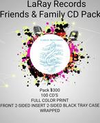$300 for 100 Pressed, Packaged, Retail Ready CD