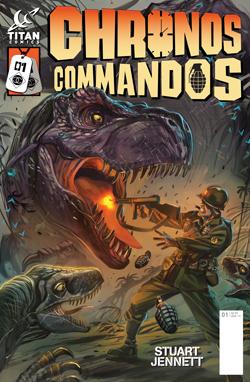 Chronos Commandos cover