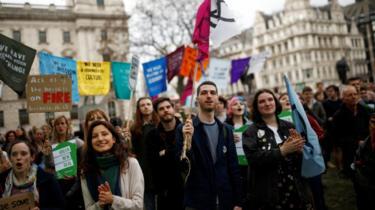 BBC News: UK Parliament declares climate change emergency