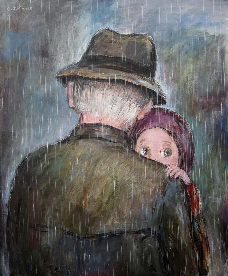 Qwelly, blog, love, არს, ბლოგი, მამა შვილი, სიყვარული