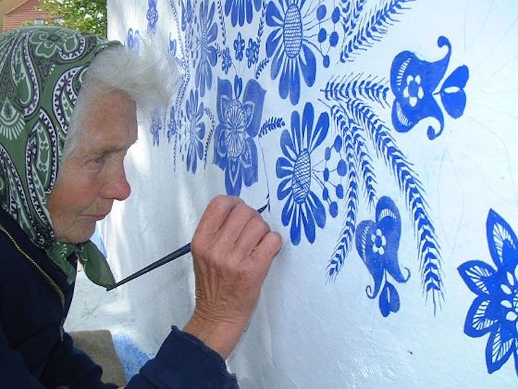 ბლოგი, ჩეხი ბებია, მხატვარი ბებია, პატრიოტი ბებია, 90 წლის მხატვარი ბებია ჩეხეთდან