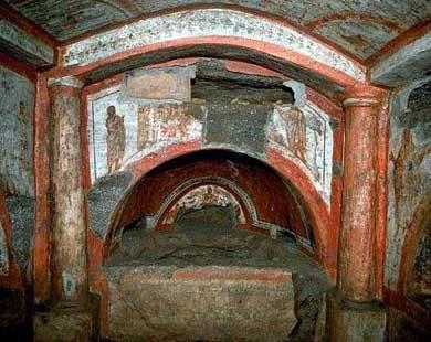 Roma, catacombs, qwelly, katakombebi, კატაკომბები, პირველი ქრისტიანები, პირველი ხატები, ფერწერა, ქრისტიანობა, გადარჩენა, ქველი, ფოტოპოსტი, photopost, qwellypost, qwellyland, qwellyplace