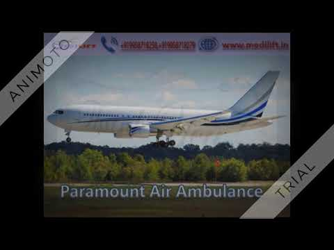 Get Trusted Air Ambulance in Bhopal with Medical Support