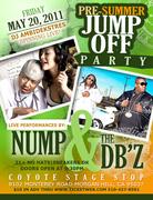 Pre Summer Jump Off Party Nump & The DBz