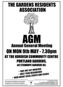 Gardens Residents Association AGM